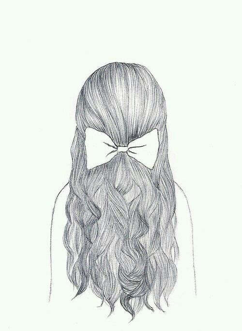 The Best Hair Cool Drawings Easy Drawings Sketches