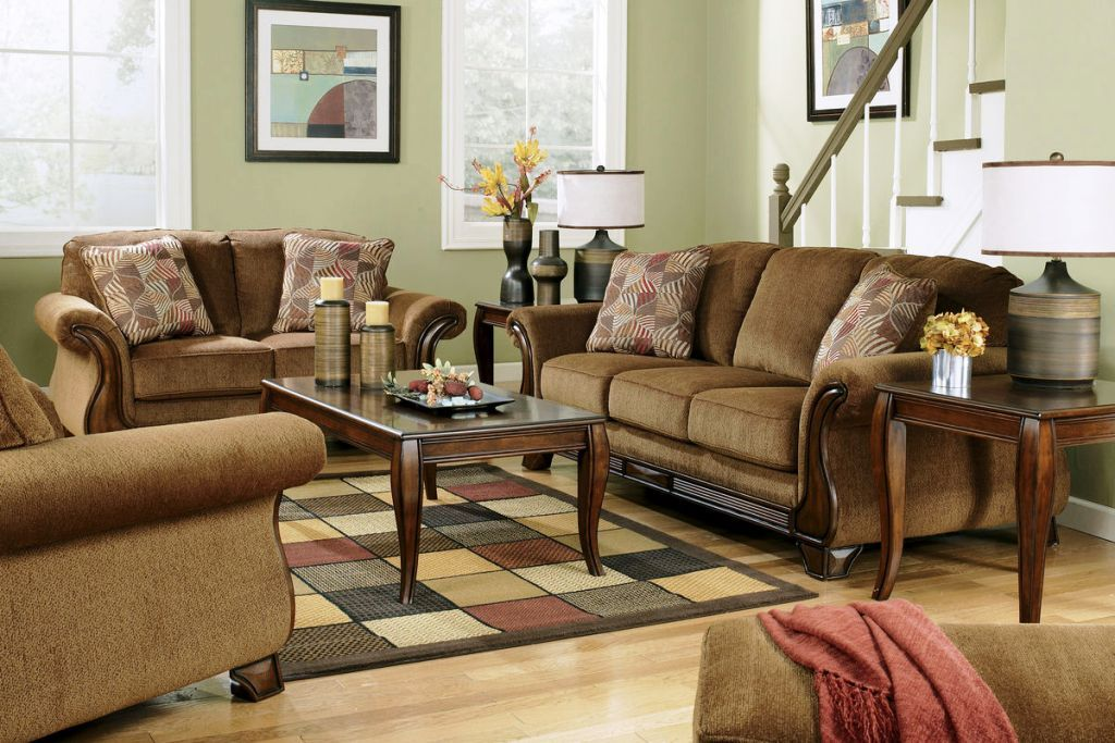 Chenille Living Room Furniture