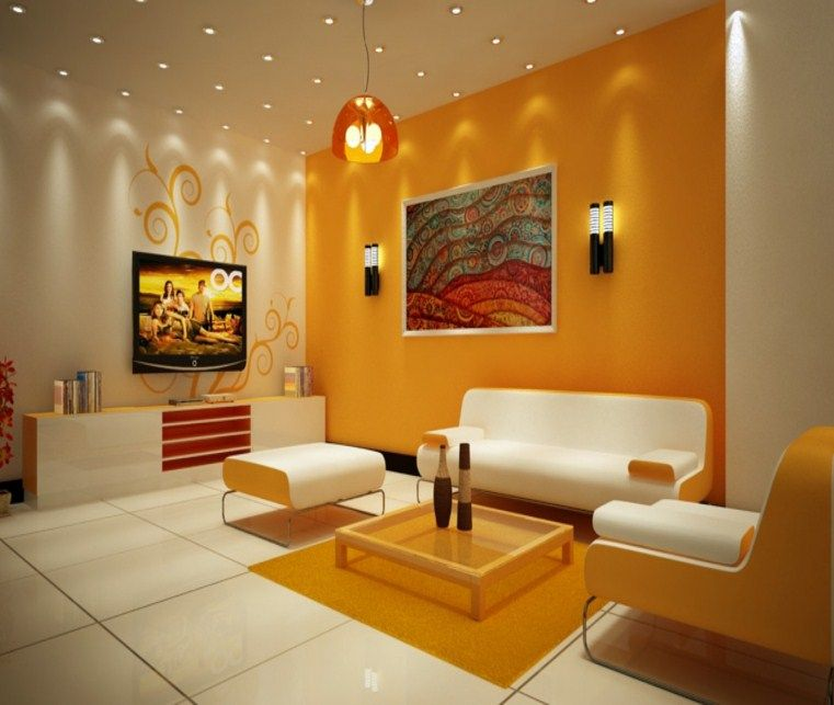 Living Room Color Combination, Room Wall