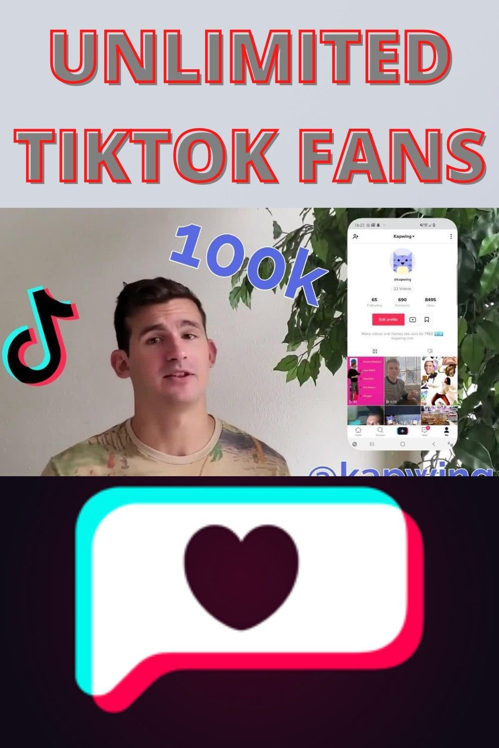 How To Increase Free Tiktok Real Followers Fans 2020 Free Followers Free Itunes Gift Card 10k Instagram Followers