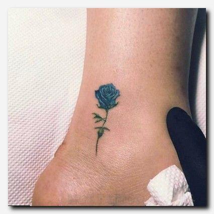 Tattoos Hot Tattoo Blue Rose Tattoos Flower Tattoo On Ankle Rose Tattoo On Ankle