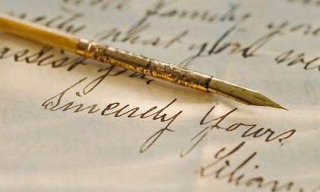 Antique Pen Exhibit at London's V&A Museum | The Lost Art of Writing | Steppes Hill Farm Antiques | http://goo.gl/zBQJpW