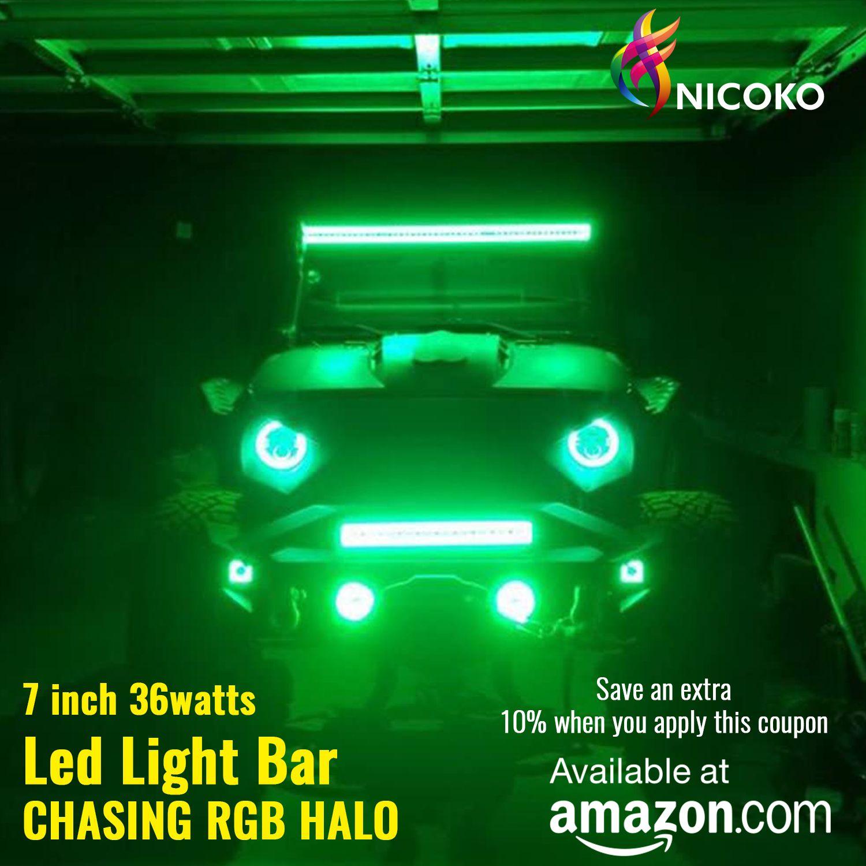 36watts Led Light Bar In 2020 Led Light Bars Led Lights Led Driving Lights