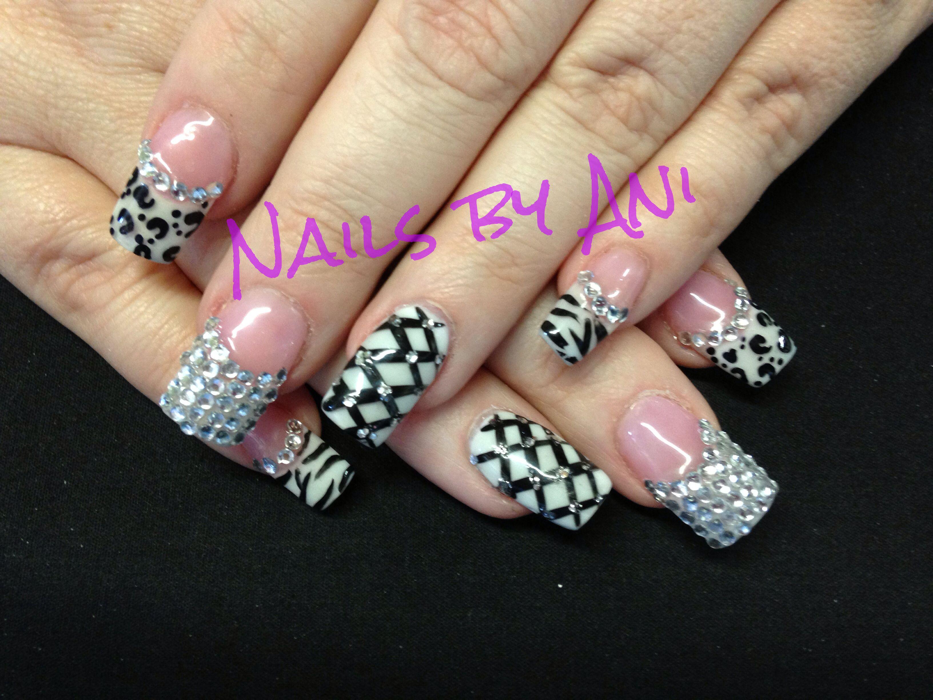 French tip nails! | Acrylic nail designs | Pinterest | Acrylic nail ...