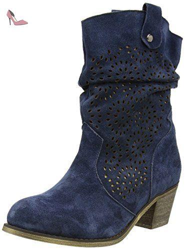 Andrea Conti 1124167, Boots femmeBeige-TR-E1-288, 36 EU
