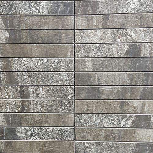 Rainforest Dark Tessera Mosaic 25 X 150mm 300 300mm Sheet Designer Tile Company