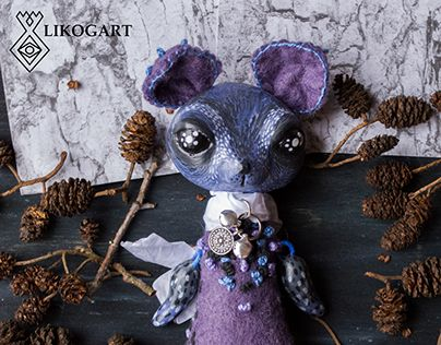 """Check out new work on my @Behance portfolio: """"Mouse Blueberry Cake Cookie Art Doll Toy Berry OOAK toy"""" http://be.net/gallery/45860605/Mouse-Blueberry-Cake-Cookie-Art-Doll-Toy-Berry-OOAK-toy"""