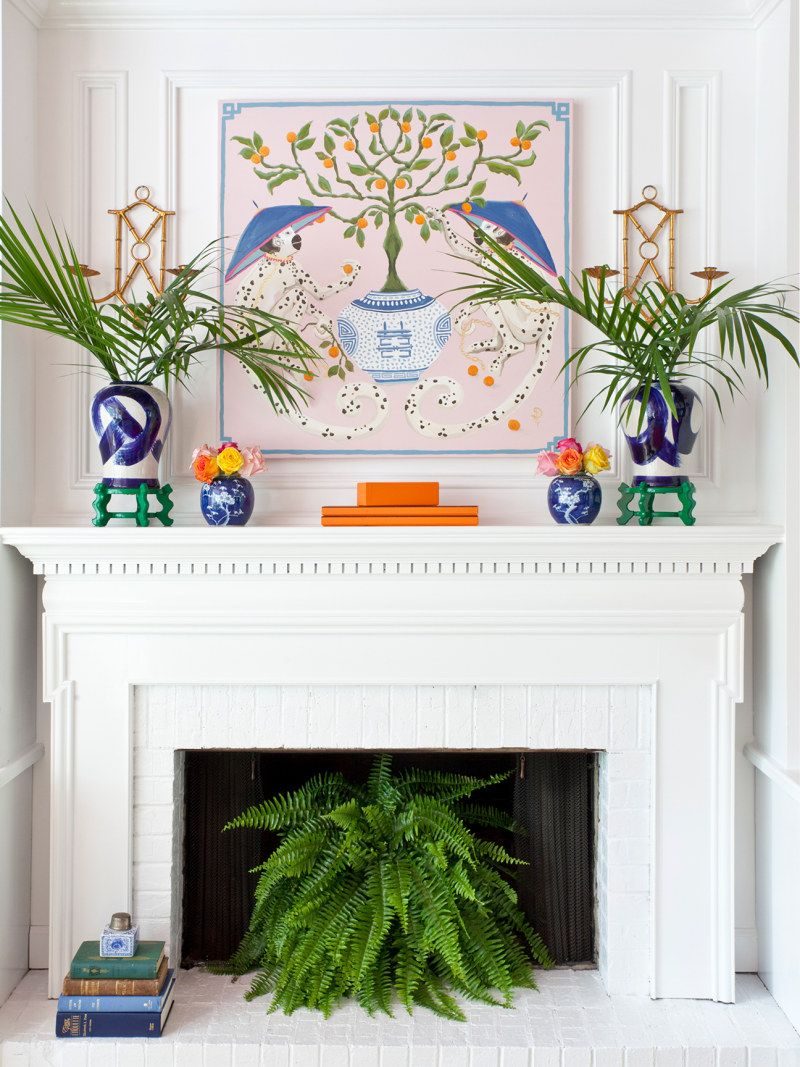 Decor Ideas For Your Non Working Fireplace Domino Fireplace