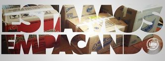 Empacando...toda nuestra filosofía y cachibaches para el nuevo lugar.  (Imagen de José Luis González Cabrero para Café Il Fatto)