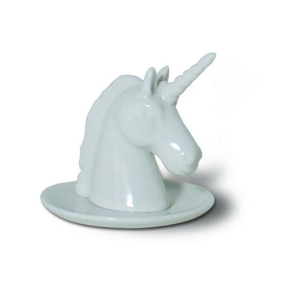 Bewitched Unicorn Ring Holder design by imm Living 18 liked on