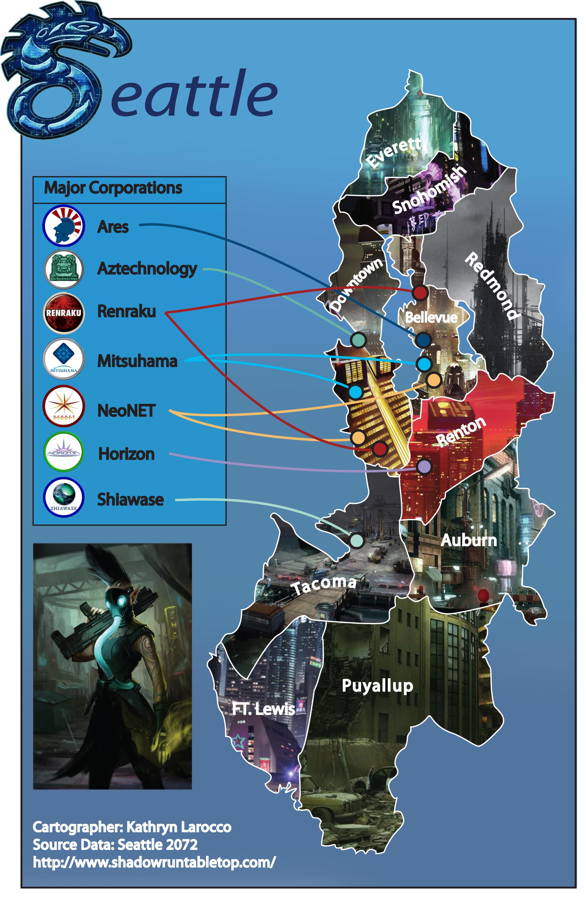 Shadowrun Map by pany-chan.deviantart.com on @DeviantArt | Shadowrun ...