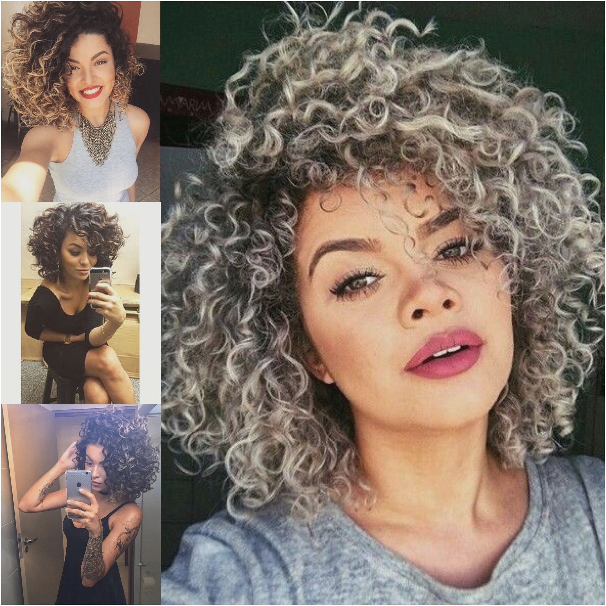 Elegante peinados rizados Galeria De Cortes De Pelo Tendencias - 55 Peinados Rizados Cortos Naturales 2019 | Hair styles ...