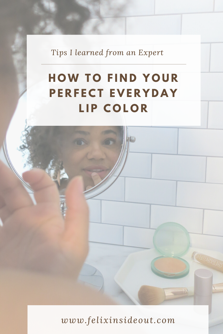 Sharing expert tips that changed the game for me - find the perfect everyday lip color. #cleanmakeup #organicbeauty