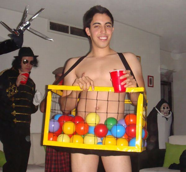 the most inappropriate halloween costumes of all time cloned ball pit hopefully he won - Band Halloween Costumes