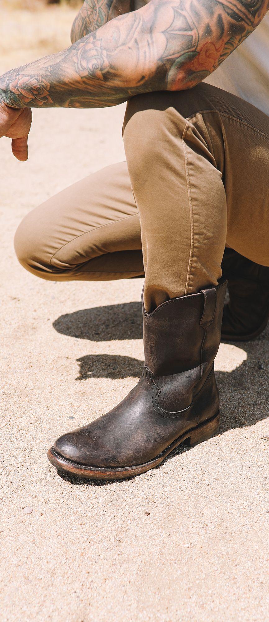 Roper boots, Mens cowboy boots