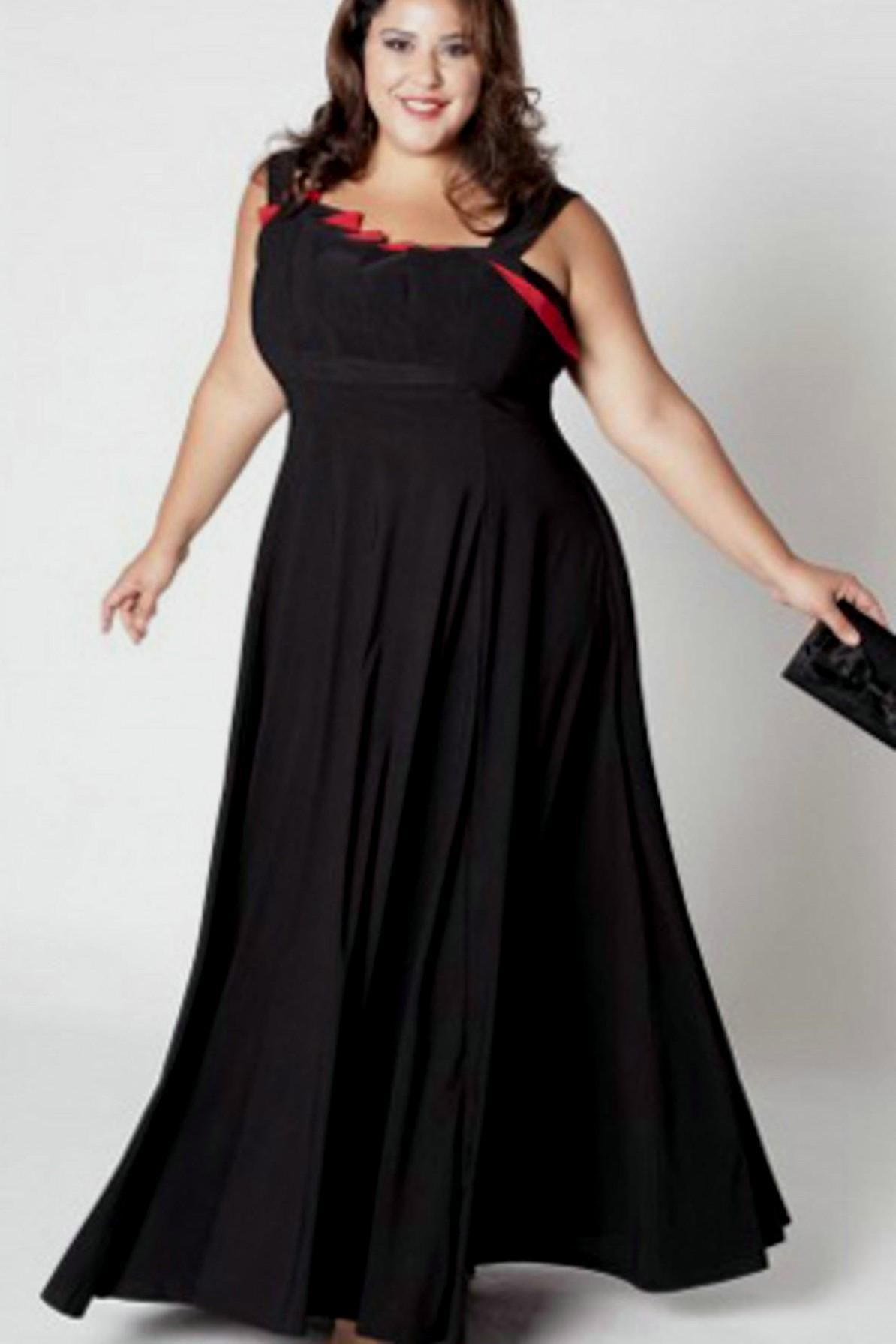 pink and black plus size dresses gallery - dresses design ideas