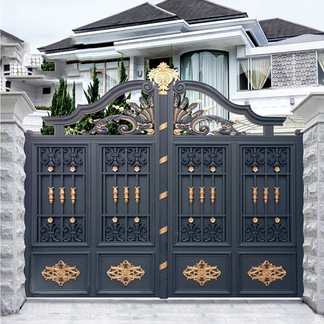 Source Top Selling Galvanized Cheap Garden Gates Design For Sale On M Alibaba Com Front Gate Design House Gate Design Gate Designs Modern