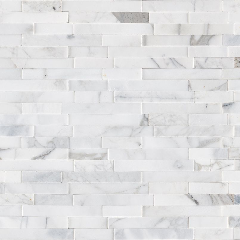 Stik Wall Tile S Calacatta Cressa Interlocking 3d Peel Stick Self Adhesive Backsplash Tiles Have A Timeless And Classic Appeal Calacatta Cressa Natural Marbl