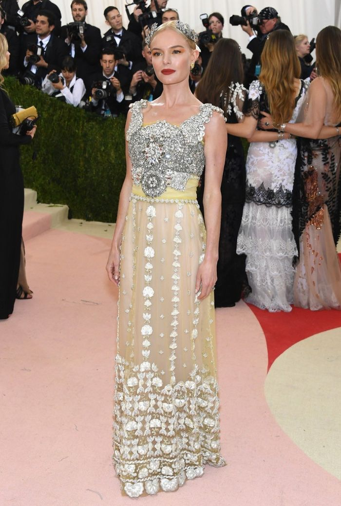 081c0ca8f01a Kate Bosworth wore an embellished Dolce   Gabbana number