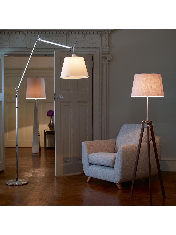 Artemide Tolomeo Mega Terra Floor Lamp Iron Floor Lamp Wood Floor Lamp Floor Lamp