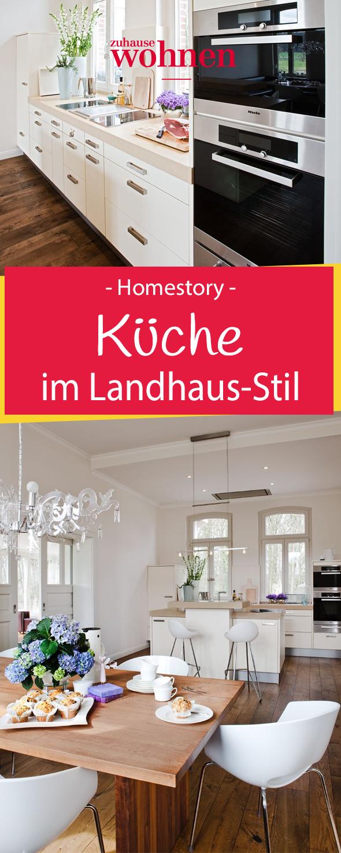 Landhaus extraleicht   Pinterest   Landhaus küche, Altes haus und ...