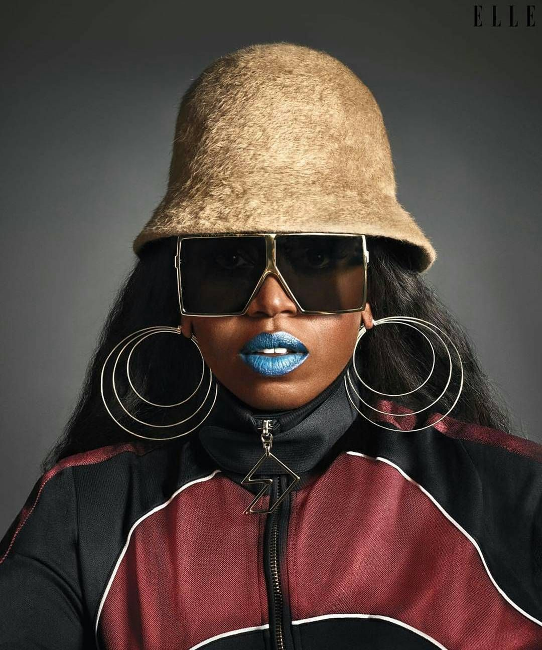 Coolness Personified. Missy Elliott for Elle USA June 2017 . Afro life Andro living. #WCW ------ #AfroAndro / #Afrocentric / #Androgynous / #Style / #AndrogynousStyle / #StylishWomen / #StylishMen / #ThisAndrogynousLife / #WhatIWore /#AndrogynousFashion / #ProudlyAndrogynous / #Slay / #Dapper / #StyleDiary / #StyleInspired / #OurAndrogynousLife / #Stylish / #StyleBlog