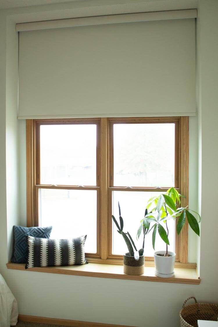 Large Window Blind How To Cover A Without