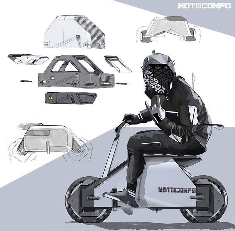 Pin By Yang Cheng On Car Exterior Design In 2020 Bike Sketch