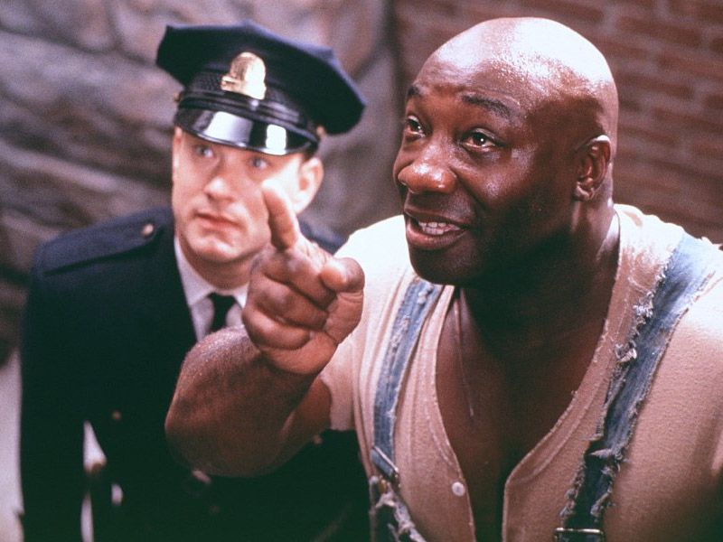The Green Mile One of many great films.