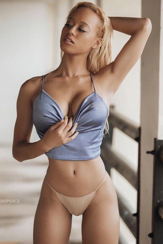 Hot College Blonde Solo