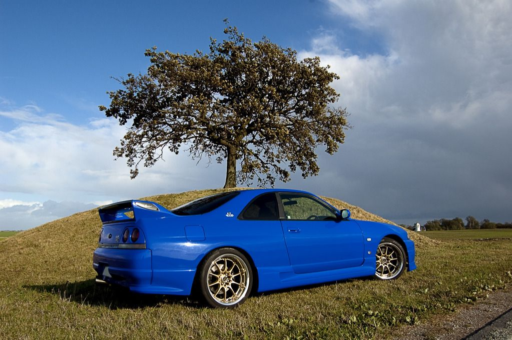 That S My Favorite Blue Nissan Skyline R33 Limited Edition