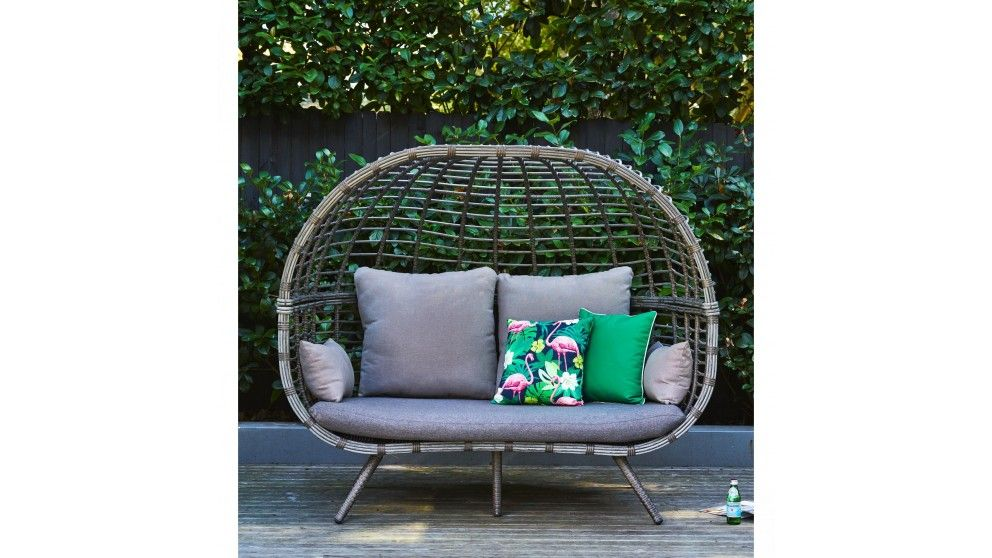 Fantastic Nest Double Pod Chair Outdoor Lounges Outdoor Living Gmtry Best Dining Table And Chair Ideas Images Gmtryco