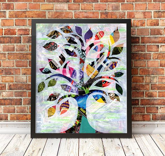 Tree of Life gift, Tree of Life Wall Art, Spiritual Art Decor, Sacred Tree of Life, Tree of Knowledge, Gift for mom, Christmas gift ideas,