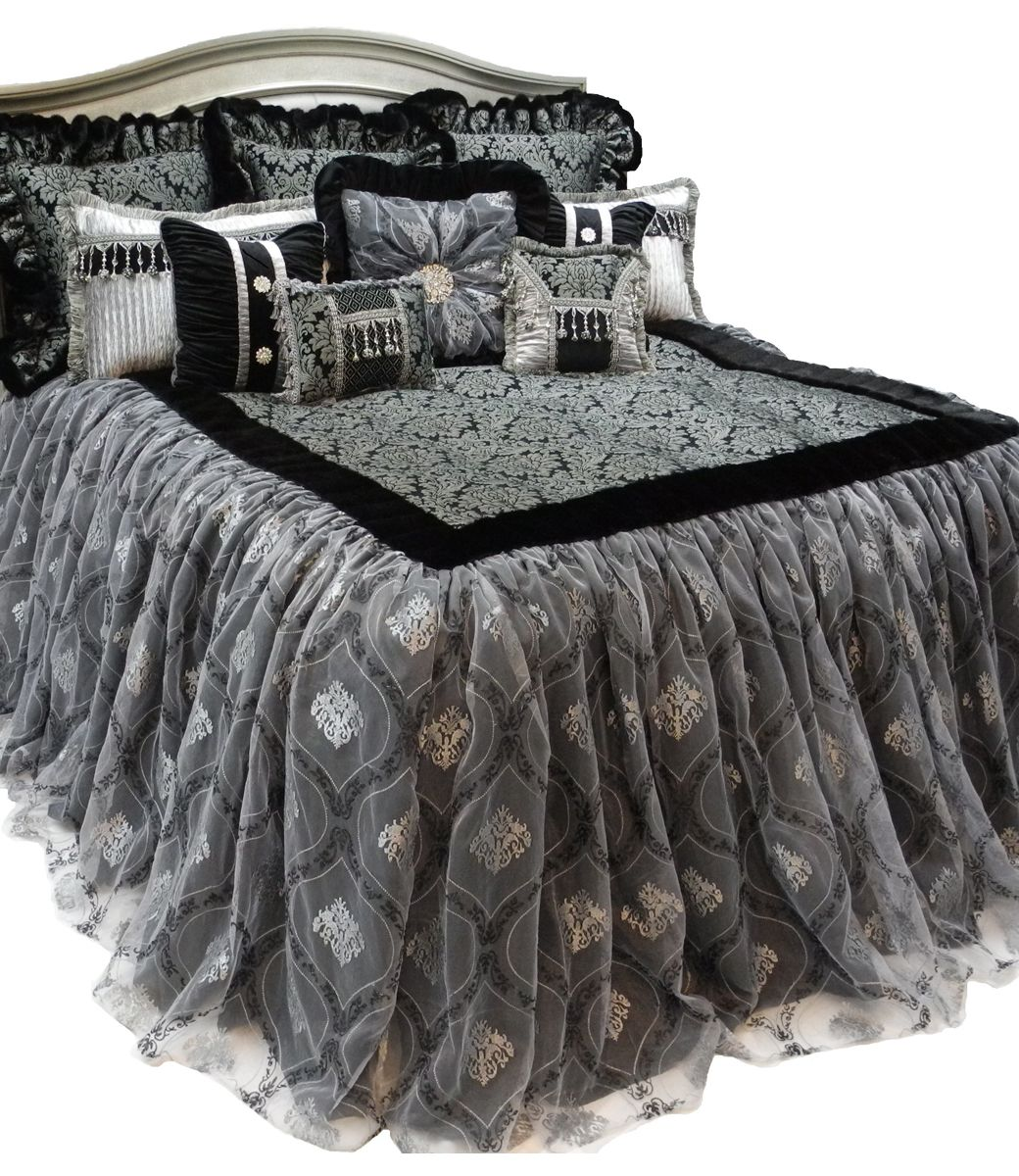This Beautiful Luxury Bedding is a Limited Collection with ONLY 2  AVAILABLE  Damask pattern Chenille. This Beautiful Luxury Bedding is a Limited Collection with ONLY 2