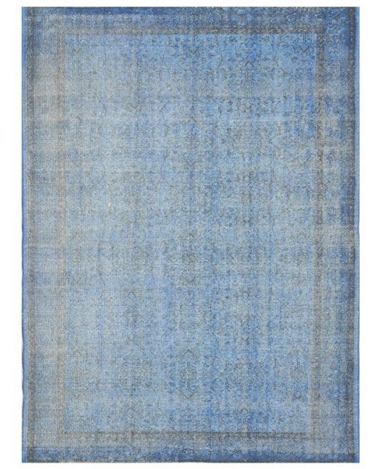 Overdyed Vintage Turkish Rug 8 9 X 5 Ft 271 166 By Retrorugs 500 Ships