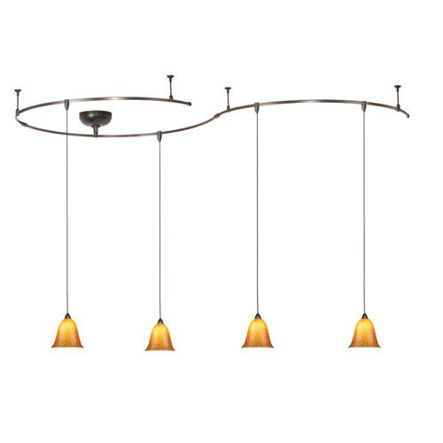 Solorail Dark Bronze Pendant Complete Kit Wac Lighting