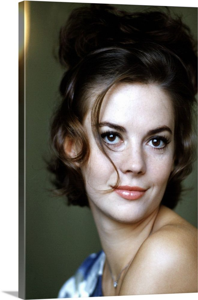 Large Solid-Faced Canvas Print Wall Art Print entitled Natalie Wood