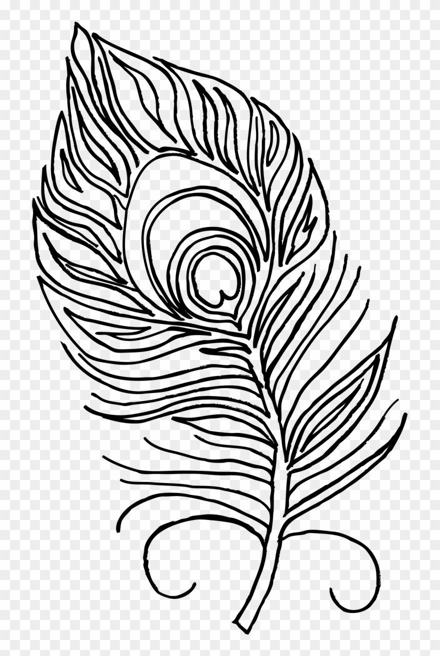 Turkey Feather Coloring Page in 2020 Turkey coloring