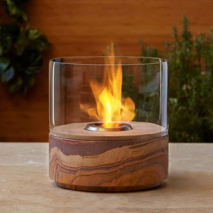 Awesome Real Flame Kota Tabletop Gel Fireplace
