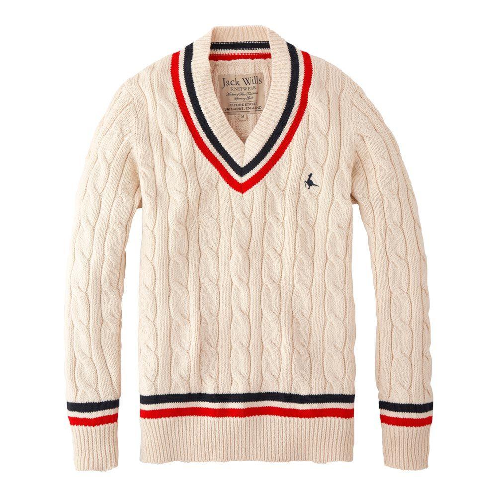 e2a6e29e518 Jack Wills - Bettison Cricket Jumper | Casual in 2019 | Men sweater ...