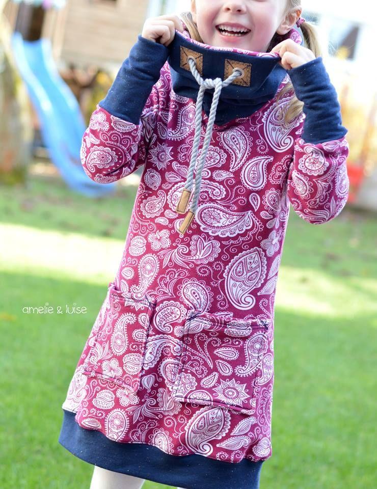 Kleid NIKE Kind | Fadenkäfer | Nähen | Pinterest | Nähen, Nähen für ...
