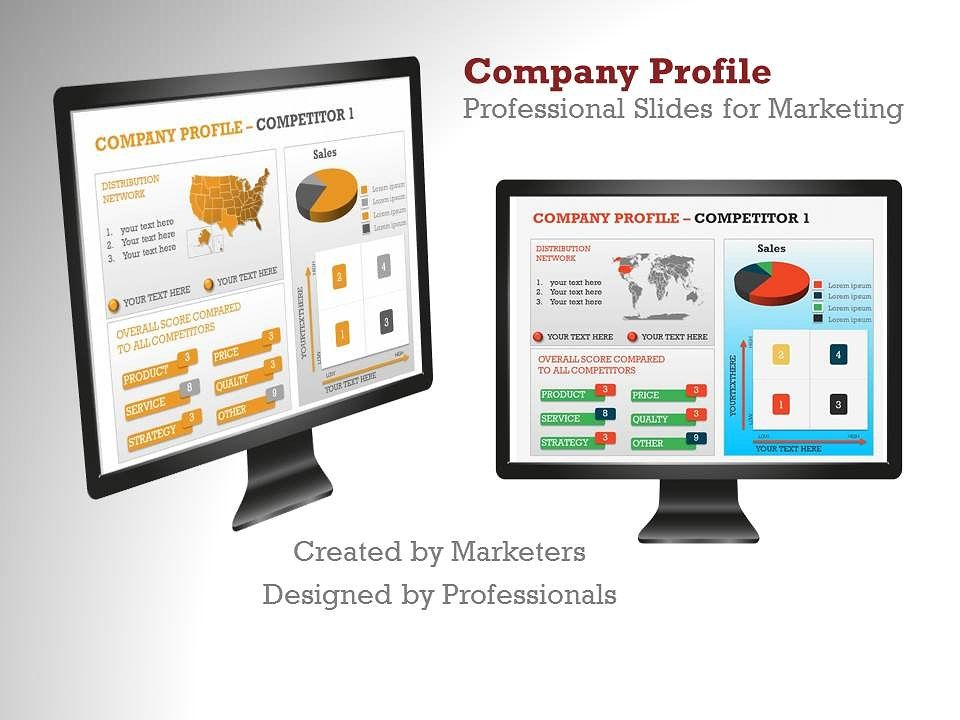 Company Profile PowerPoint Template Company profile, Power point