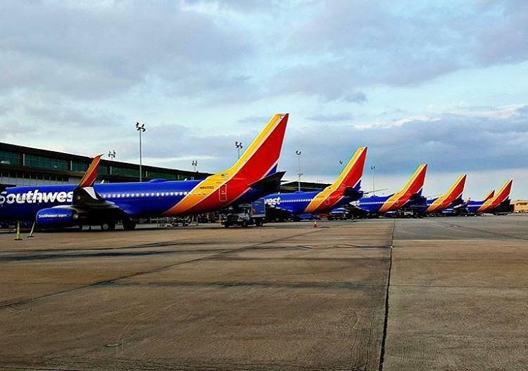 Instagram Photo By Southwest Airlines May 31 2016 At 9 11pm Utc Southwest Airlines Southwest Air Houston Airport
