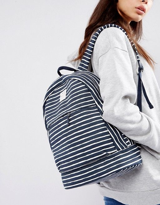65b2470fa Jack Wills Stripe Cotton Backpack | Bags+things | Backpacks, Jack ...