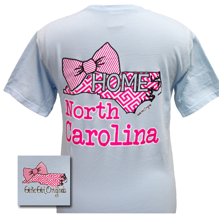 Girlie Girl Preppy NC Short Sleeve Tee