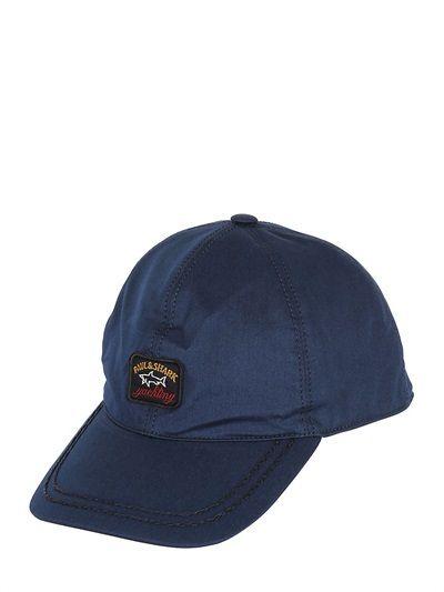 73b05fbd3 Navy Baseball Cap by Paul & Shark. Buy for $81 from LUISAVIAROMA ...