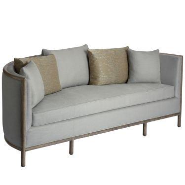 McGuire Furniture: Barbara Barry Lunette Sofa: C 65gg