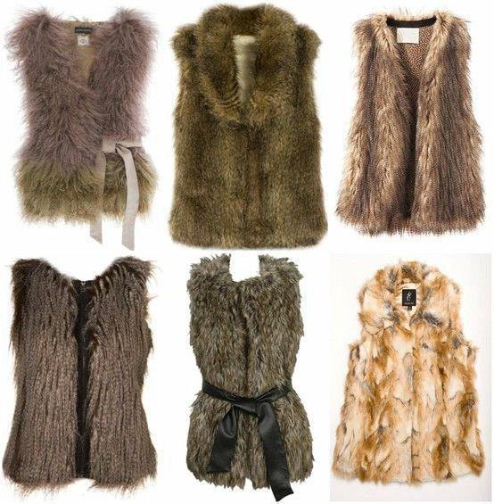 DIY Faux Fur Vest Tutorial