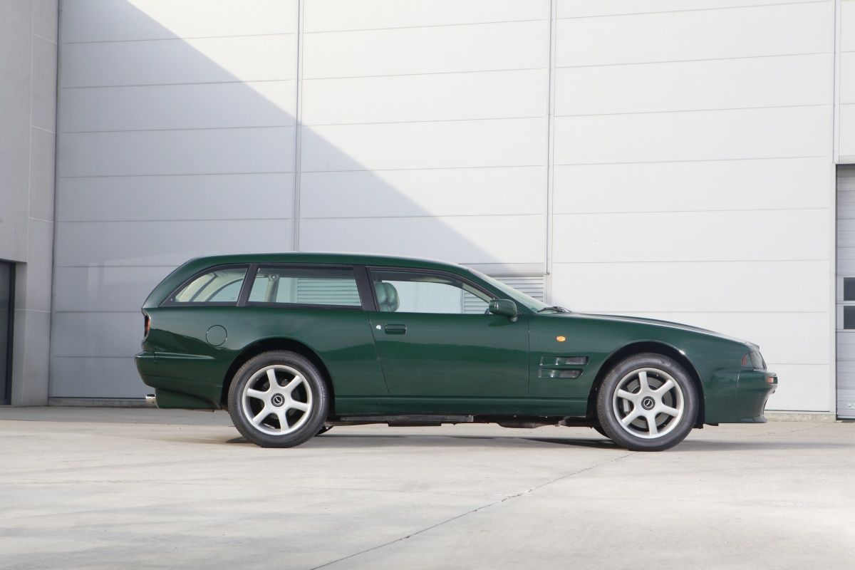 aston martin v8 sportsman shooting brake. very rare and very cool