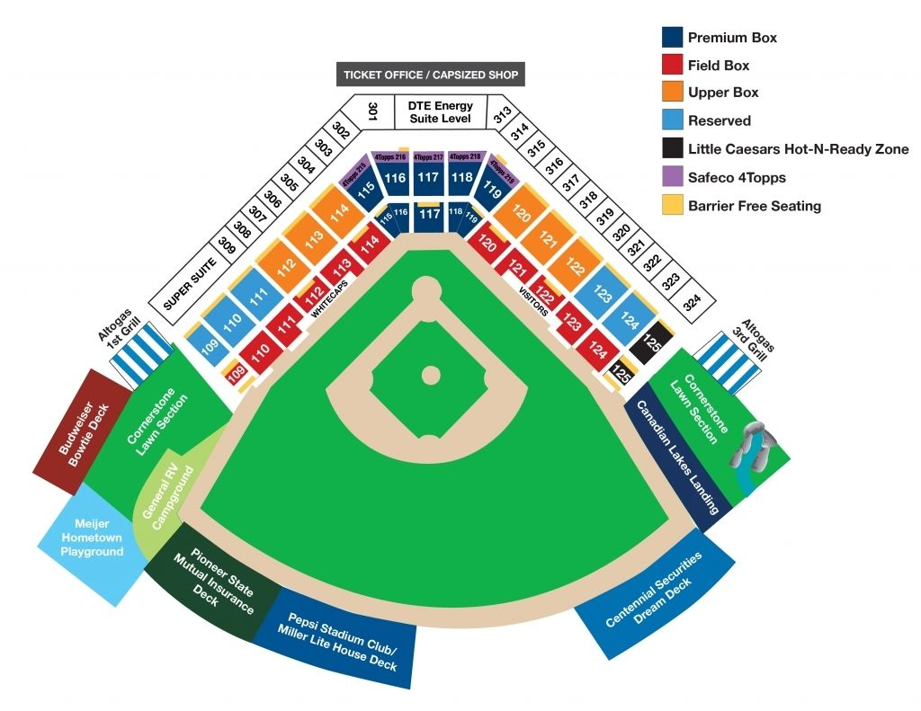 The Elegant Fifth Third Field Seating Chart